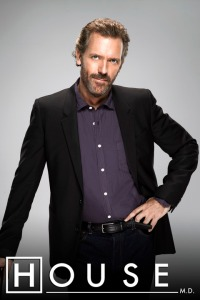 Hugh Laurie as Dr. Gregory House M.D.
