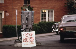 Carter Era Gas Shortage Sign