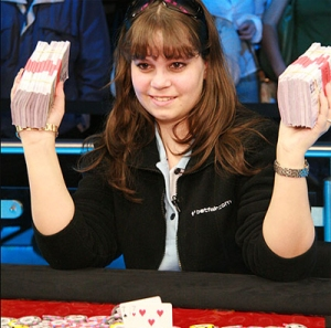 Professional Poker Player Annette Obrestad