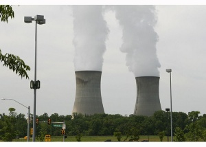 Nuclear Power Plant Emits Only Water Vapor