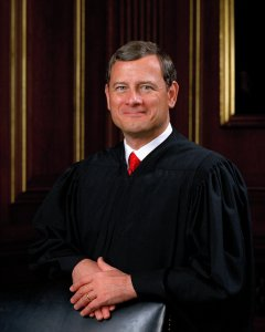 Supreme Court of the United States Chief Justice John Roberts