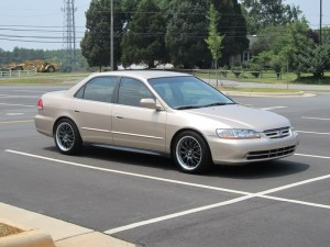 2002 Honda Accord: According to Columbus City Council—death trap