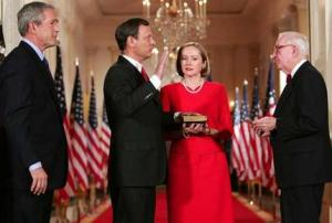 Chief Justice Roberts Being Sworn In