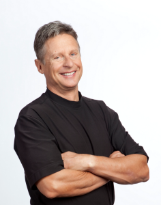 Former Governor Gary Johnson - Libertarian nominee for President