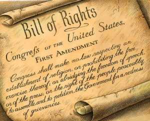 U.S. Constitution: 1st Amendment