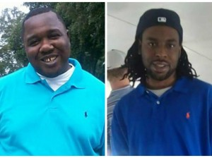 Alton Sterling (Left), and Philando Castile (right)