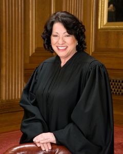 Official Portrait of United States Supreme Court Justice Sonia Sotomayor Click for Biography